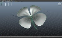 3d flower format model