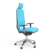 3d modern office chair