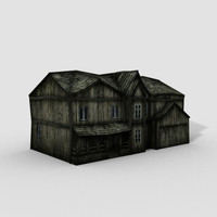 old house_lowpoly