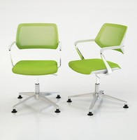 3d steelcase office chair qivi model