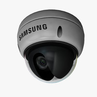 dome security camera 3d max