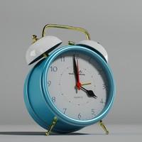 3dsmax alarm clock wendox