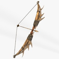Fantasy bow and arrow
