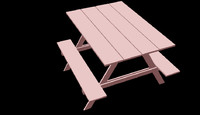 picnic table 3ds