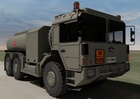 3ds hungarian raba h25 fuel truck