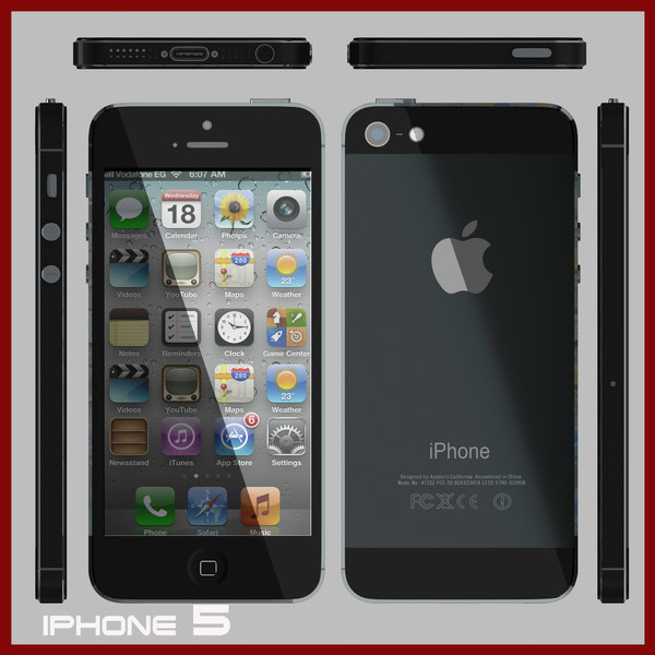 max apple iphone 5 - iPhone 5... by michael_egy