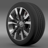 VW Beetle TDI 2012 wheel
