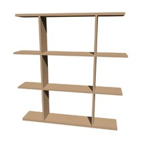 maya 4 tier shelving