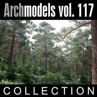 3d model archmodels vol 117