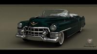 cadillac eldorado 1953 3d 3ds