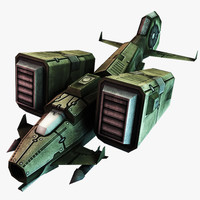 sci-fi jet fighter 3d 3ds