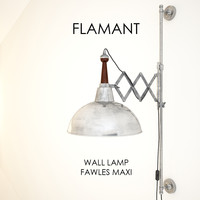 3d flamant wall lamp fawles