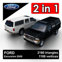 excursion suv 3d 3ds