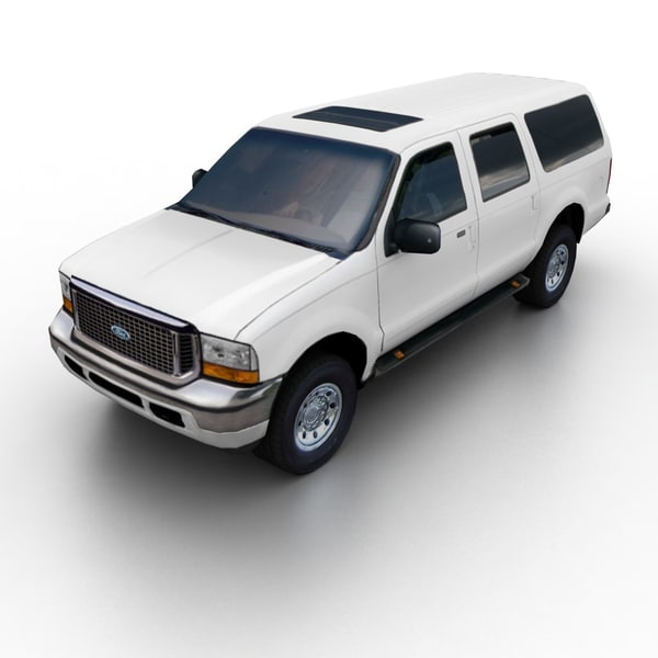 excursion suv 3d 3ds - Ford Excursion 00-04... by TAURUS_X