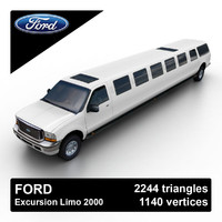 Ford Excursion Limo 2000
