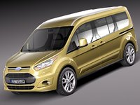 2013 2014 wagon van 3d 3ds