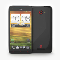 HTC J Butterfly Smrtphone with android in black