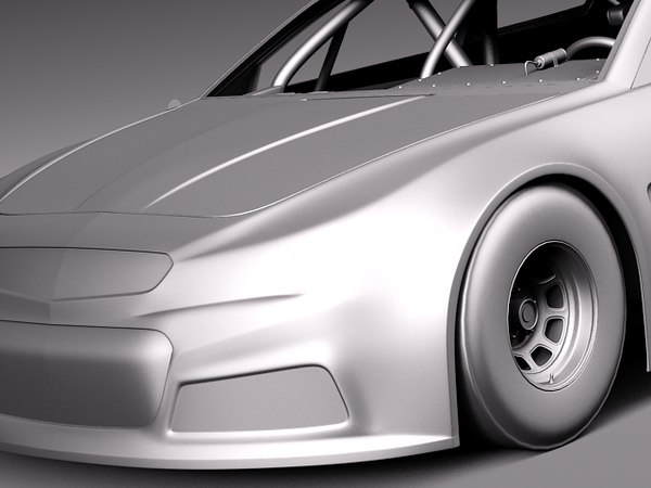 3d c4d 2012 2013 car v8 - Chevrolet SS NASCAR 2013... by squir