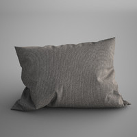 maya pillow photorealistic soft
