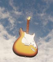 fender stratocaster guitar fbx