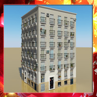 photorealistic building 11 3d ma