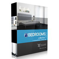 CGAxis Models Volume 27 Bedrooms C4D