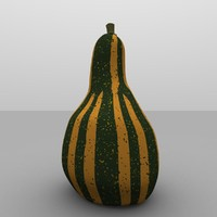 Ornamental Holiday Gourd