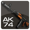 3d ak-74 assault rifle