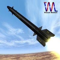 iranian cruise missile persian 3d model