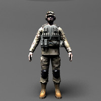 ranger 3d max