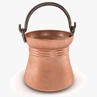 3d model siirt bucket