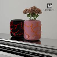 visionnaire vases 3d model