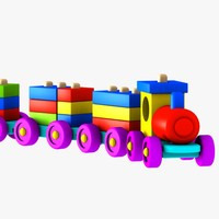 3ds train puzzle toy
