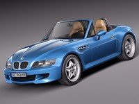 3ds max bmw z3 m 1998