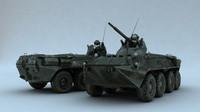 apc tanks 3d max
