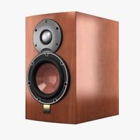 3ds max dali mentor menuet speaker