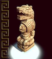 Mayan Figure Replica