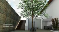 3d patio modern