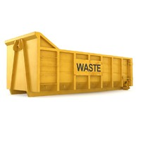 3d max container waste