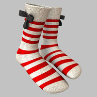 fancy socks 3d model