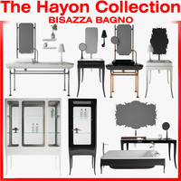 3d model bisazza hayon