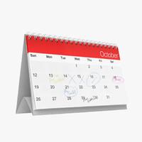 Standing Calendar