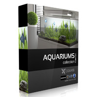 3d model volume 24 aquariums
