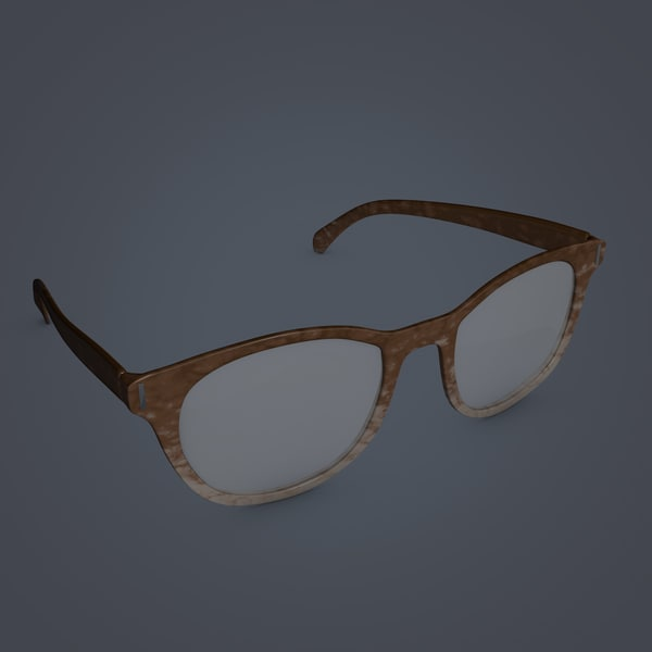 vintage eye glasses 3d c4d - Vintage Glasses... by Jason Harmon