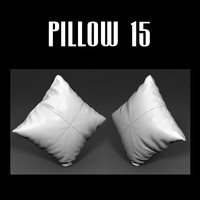 pillow interior obj