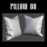 pillow interior fbx