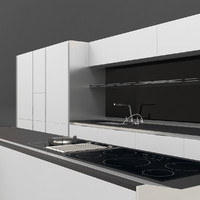 kitchen siematic s1 3d max