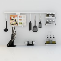 3d kitchenware