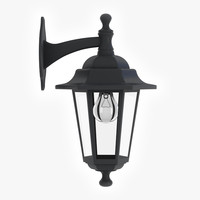 3d porch lamp model