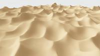 3d model of desert dune
